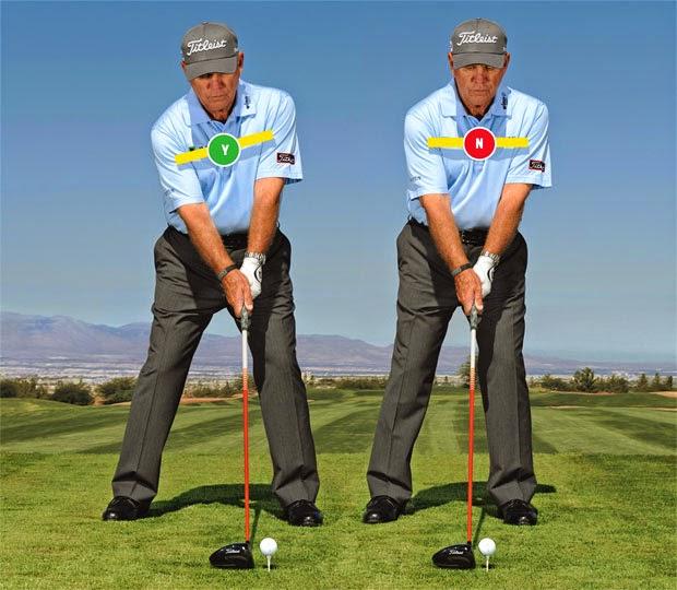 Drivers más largos y rectos - La clave en el ángulo de su columna